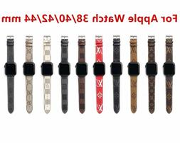 Luxury Bracelet New Grid Strap Leather Watch Band For Apple