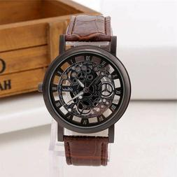 luxury watches for men new year watch leather band watch sta