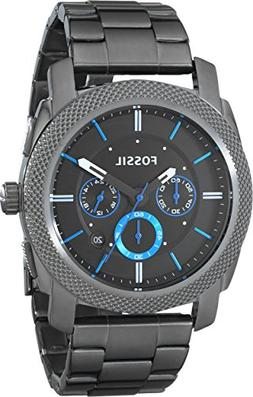 Fossil Men's Machine FS4931 Grey Stainless-Steel Quartz Watc