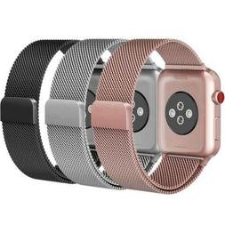 Magnetic Milanese Band Metal Strap for iWatch Apple Watch 42