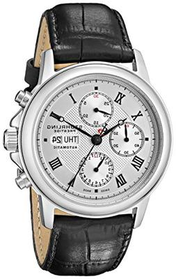 Men's Manual/Self-Winding Automatic Chronograph Accolade Sil