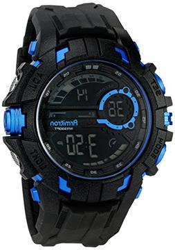 Casio Mens Black Resin Strap Chronograph Sport Watch