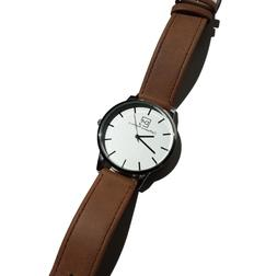 Mens Watches 40mm DeMarco McHale Men's Watch tan band with w