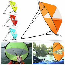 """42"""" Portable PVC Downwind Wind Paddle Instant Popup Board Sa"""