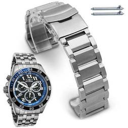 Metal Replacement Watch Band Fits Invicta Pro Diver 48mm Chr