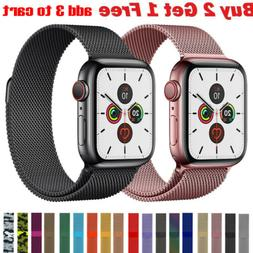 Milanese Loop Band iwatch Strap For Apple Watch Series 6 5 4
