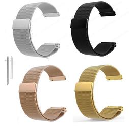 Milanese Loop Magnetic Wrist Watch Strap Band For FOSSIL Q V