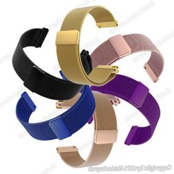 Milanese Stainless Steel Band Quick Release Wrist Strap For