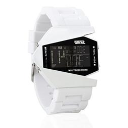 Military Watch Colorful Light Stealth Fighter Style Waterpro