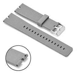 Moto 360 Watch Band, Rerii Silicone, Rubber Band Strap for M