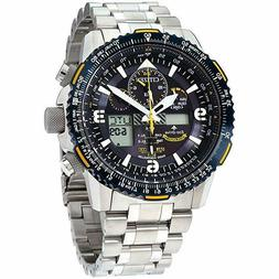 NEW Citizen Eco-Drive JY8078-52L Blue Angels Skyhawk Chronog