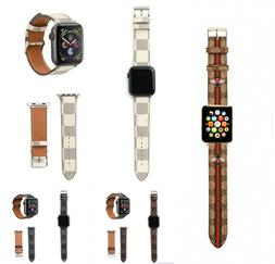 NEW Luxury Leather Strap iWatch Bracelet For Apple Watch Ban