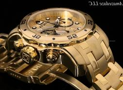 NEW Invicta Mens Pro Diver Scuba Chronograph Stainless Steel