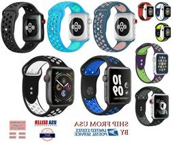 new Silicone Sport Band 38/40mm 42mm 44mm For Nike+ Apple Wa