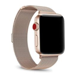 NEW Stainless Steel Metal Band Strap Replacement Gold Apple