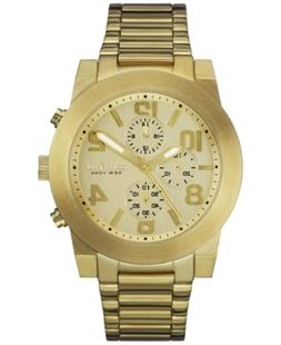 Caravelle New York by Bulova Men's Chronograph Gold-Tone Sta