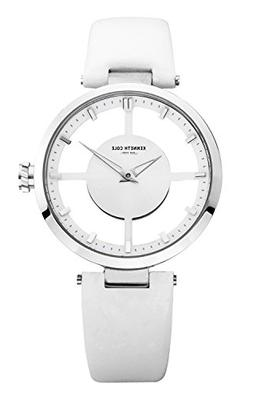 """Kenneth Cole New York Women's KC2609 """"Transparency"""" Stainles"""