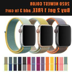 nylon sports band strap for apple watch