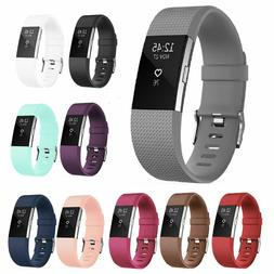 For OEM Fitbit Charge 2 HR Replacement Band Silicone Bracele