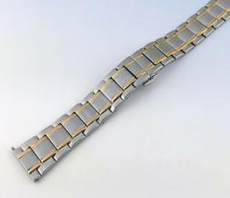 Original ANNE KLEIN 18mm Two-tone Stainless Steel Watch Band