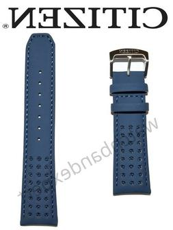 Original Citizen Blue Angels 23mm Leather Band Strap For Wat