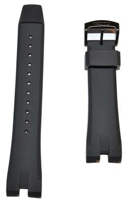 Original Citizen Ecosphere Black Rubber Band Strap For CA415