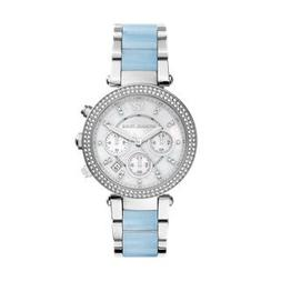 Michael Kors Parker Chronograph Stainless Steel Women's Watc