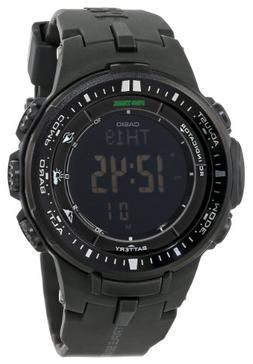 Casio Men's Pro Trek PRW-3000-1ACR Solar Powered Black Sport