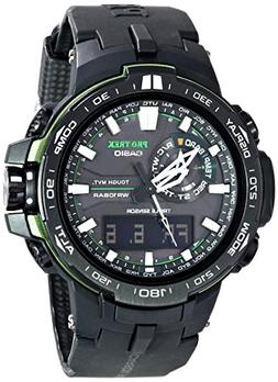Casio Men's Pro Trek PRW-6000Y-1ACR Solar Powered Black Anal