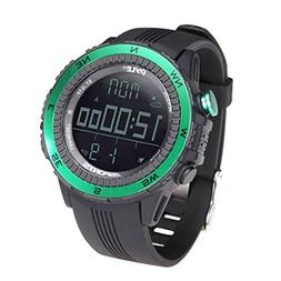 Pyle PSWWM82GN Digital Multifunction Sports Watch with Altim