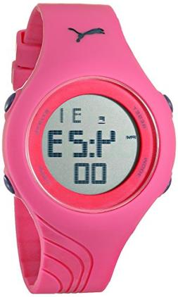 PUMA Women's PU911092003 Twist S Pink Digital Display Quartz