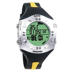 PYLE-SPORTS Advanced Dive Meter With Water Depth, Temperatur