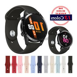 Quick-Fit Soft Silicon Sport Watch Band Strap For Huawei Wat