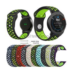 Quick Release Soft Silicone Sport Watch Band Strap for Ticwa