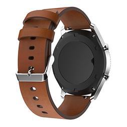 22mm Quick Release Watch Bands Pinhen Leather Replacement St