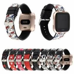 Replacement Cute Cartoon Gift Genuine Leather Watch Band Str