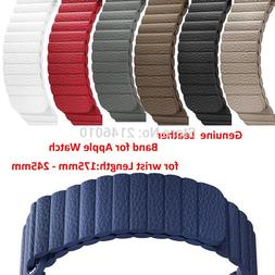 Replacement Genuine Leather Magnetic Closure Loop <font><b>W