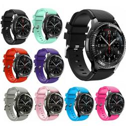 Silicone Bracelet Strap Replacement Watch Band For Samsung G