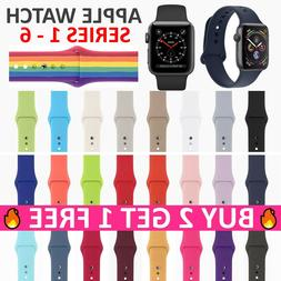 Replacement Silicone Sport Band Strap for Apple Watch Series