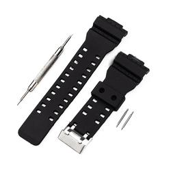 Replacement Silicone Wrist Band Strap Watch Bracelet W/ Tool