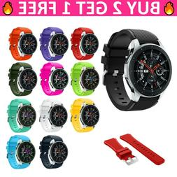 Replacement Soft Silicone 22mm Band Strap Bracelet For Samsu