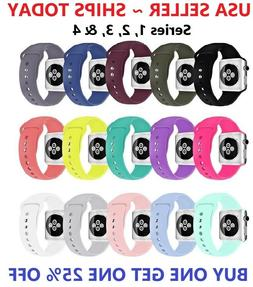 replacement sports silicone strap band for apple