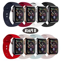 RUOQINI Replacement Wristband for Apple Watch Band 42mm 44mm