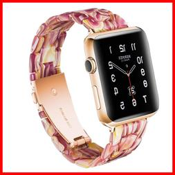 Resin Band For App Le Watch 38Mm 40Mm Men Women Compatible W