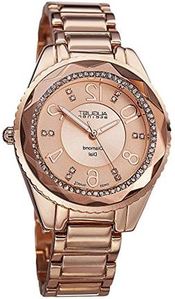 Women's Rose-Tone Alloy and Dial - Marcel Drucker Watch