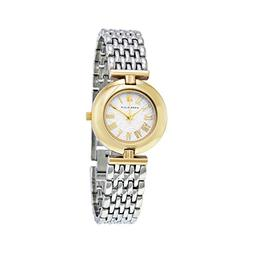 Women's Anne Klein Round Bracelet Watch, 27mm - Silver/ Gold