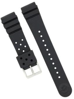 Seiko Rubber Watch Band Original 22mm for Divers Model 4F24Z