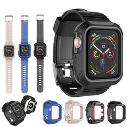 Rugged Case + Strap Bands For Apple Watch Series 5/4/3/2/1 4