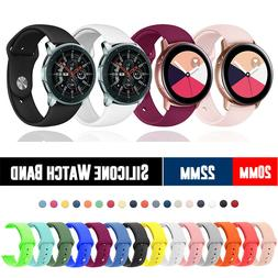 For Samsung Galaxy Watch 3 41MM 45MM Watch Band Silicone Spo
