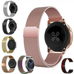 Samsung Galaxy Watch 46mm 42mm Active 1 2 40mm Bands Stainle
